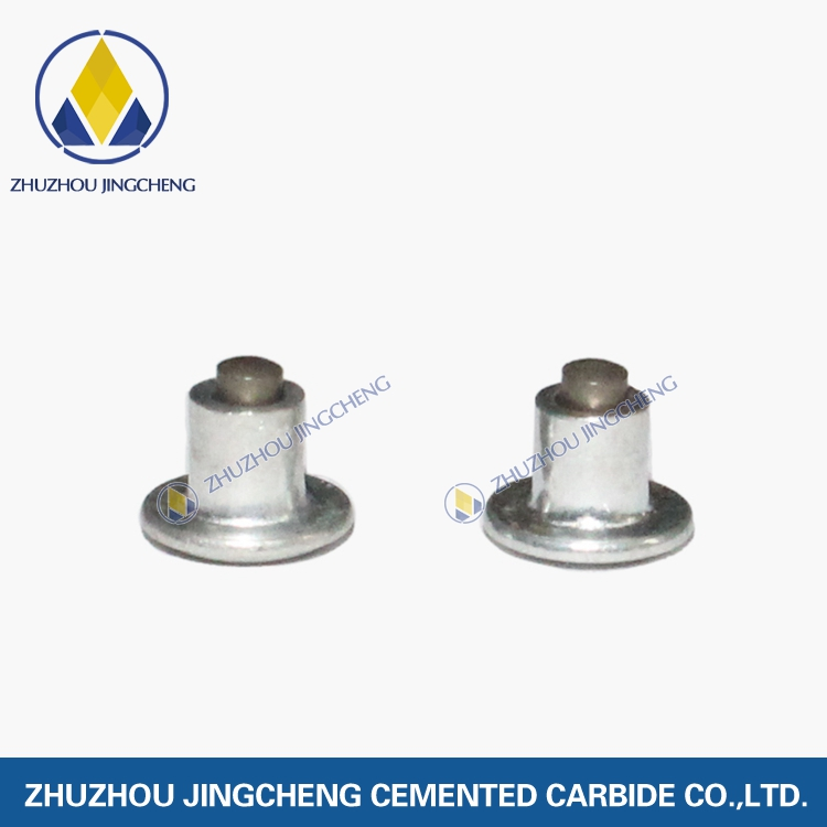 Tire antiskid studs for bicycles and scooters. Cemented carbide snow antiskid studs.